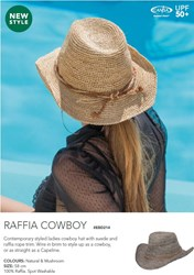 Picture of GILLY O COLLECTION - RAFFIA COWBOY