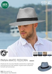 Picture of MADE FOR MEN - PANA-MATE FEDORA