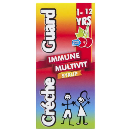 Picture of CRECHE GUARD - IMMUNE MULTIVIT SYRUP 1 - 12 YEARS - 200ML
