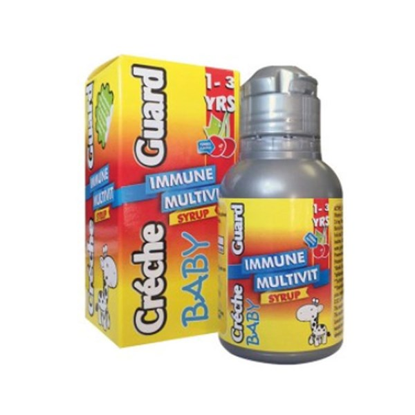 Picture of CRECHE GUARD - IMMUNE MULTIVIT SYRUP BABY - 100ML