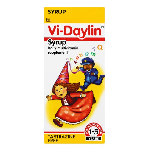 Picture of VI-DAYLIN SYRUP - 150ML