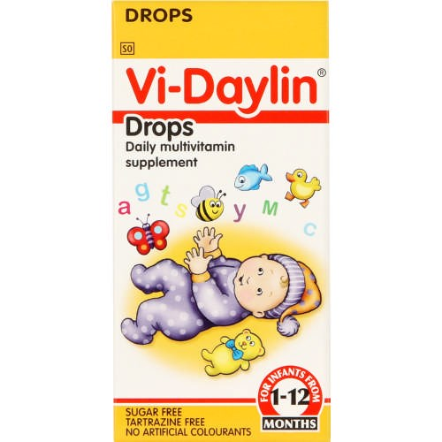 Picture of VI-DAYLIN DROPS - 25ML