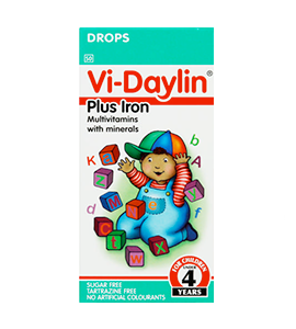 Picture of VI-DAYLIN WITH IRON DROPS - 30ML