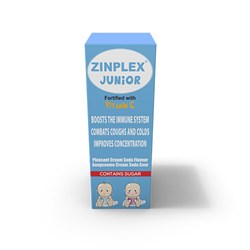 Picture of ZINPLEX JUNIOR SYRUP - VIT C - 200ML