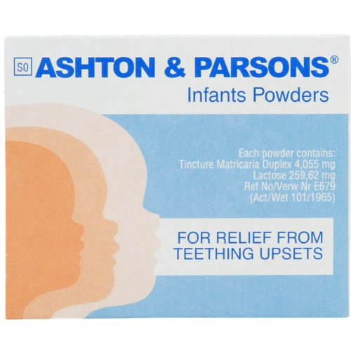 Picture of ASHTON & PARSONS TEETHING POWDER - 20'S