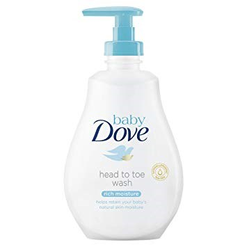 Picture of DOVE BABY - HEAD TO TOE WASH - RICH MOISTURE - 400ML