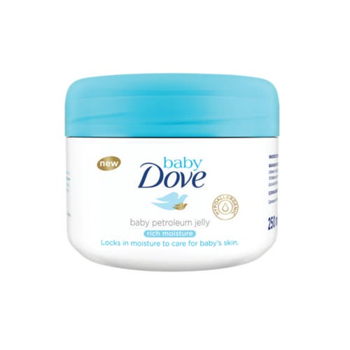Picture of DOVE BABY - PETROLEUM JELLY - RICH MOISTURE - 250ML