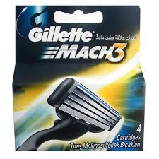 Picture of GILLETTE MACH 3 CARTRIDGES - 4'S