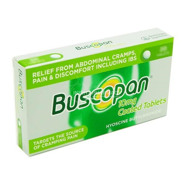 Picture of BUSCOPAN 10MG TABLETS - 10'S