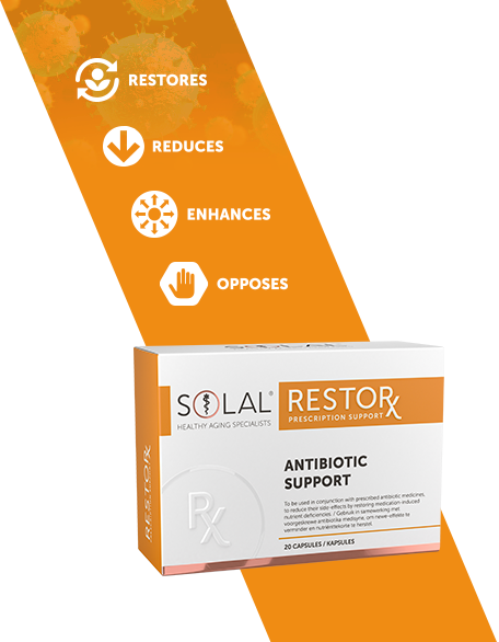 Picture of SOLAL RESTORX ANTIBIOTIC SUPPORT - 20'S