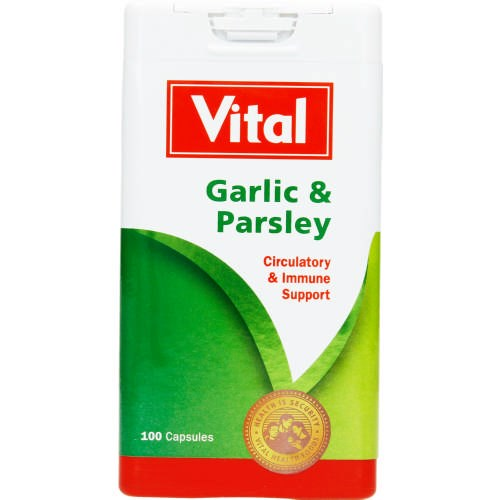 Picture of VITAL GARLIC & PARSLEY CAPSULES - 90'S