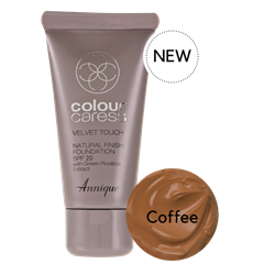Picture of ANNIQUE CC FOUNDATION - VELVET TOUCH FINISH SPF20 - COFFEE