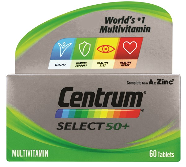 Picture of CENTRUM SELECT 50+ - 30'S