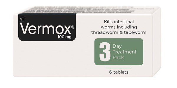 Picture of VERMOX TABLETS - 6'S