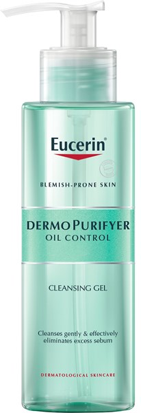 Picture of EUCERIN DERMOPURIFYER CLEANSING GEL - ACNE PRONE SKIN - 400ML