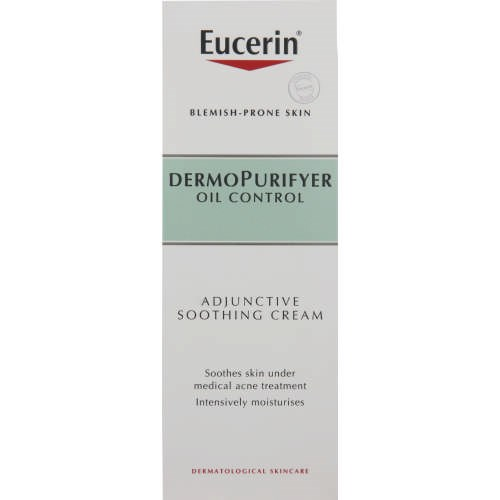 Picture of EUCERIN DERMOPURIFYER ADJUNCTIVE SOOTHING CREAM - 50ML