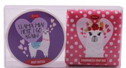Picture of JENAM LLAMA BODY DUO PACK - BODY BUTTER & SOAP BAR