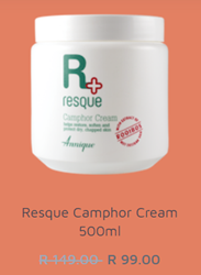 Picture of ANNIQUE RESQUE CAMPHOR CREAM