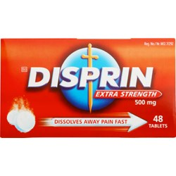 Picture of DISPRIN EXTRA STRENGTH TABLETS - 48's