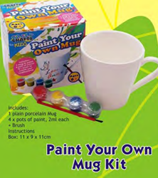 Picture of CRAZY CRAFTS - PAINT A MUG