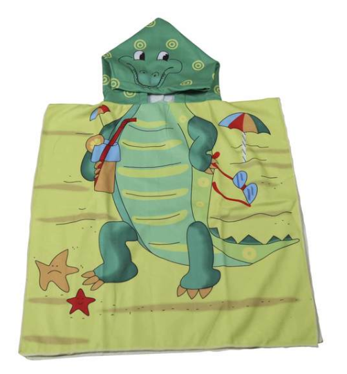 Picture of KIDS SWIM TOWEL WITH HOODIE - ASSORTED