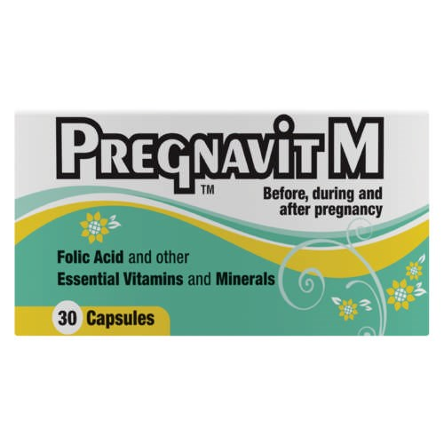 Picture of PREGNAVIT M CAPSULES - 30'S