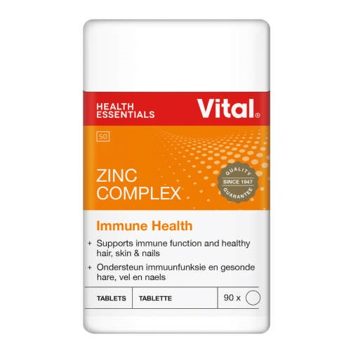 Picture of VITAL ZINC TABLETS - 90'S