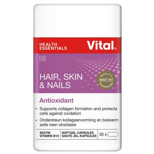 Picture of VITAL HAIR, SKIN & NAILS CAPSULES - 30'S