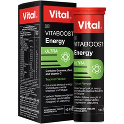 Picture of VITAL VITABOOST EFFERVESCENT TABLETS - 10'S
