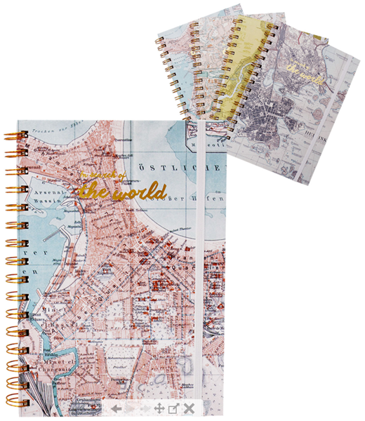 Picture of NOTEBOOK - WORLD ATLAS