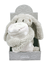 Picture of PLUSH BUNNY WITH BLANKET
