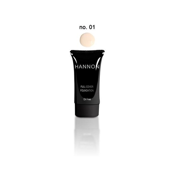 Picture of HANNON FULL COVER LIQUID FOUNDATION - NO1