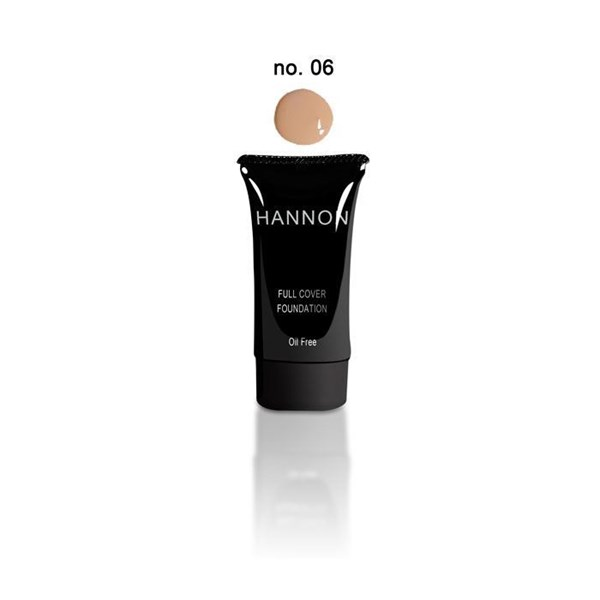 Picture of HANNON FULL COVER LIQUID FOUNDATION - NO6