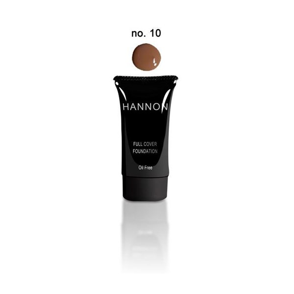 Picture of HANNON FULL COVER LIQUID FOUNDATION - NO10