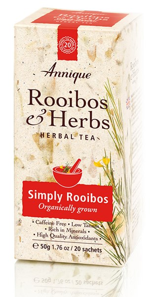Picture of ANNIQUE TEA THERAPY - SIMPLY ROOIBOS  (ORGANIC ROOIBOS TEA)