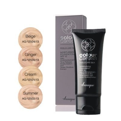 Picture of ANNIQUE CC FOUNDATION - FEELS LIKE SILK SPF15 - CREAM