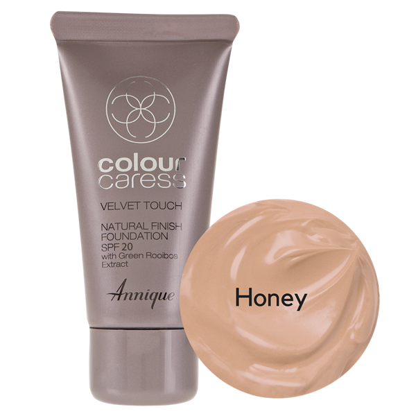 Picture of ANNIQUE CC FOUNDATION - VELVET TOUCH FINISH SPF20 - HONEY