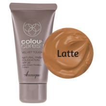 Picture of ANNIQUE CC FOUNDATION - VELVET TOUCH FINISH SPF20 - LATTE