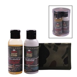 Picture of CAMO KIDS GIFT SET - CAMO WALLET, BATH & SHOWER GEL & SHAMPOO/CONDITIONER)