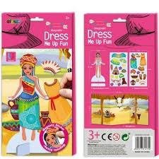 Picture of AVENIR - MAGNETIC DRESS ME UP - PRINCESS
