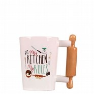 Picture of PATISSERIE - ROLLING PIN MUG