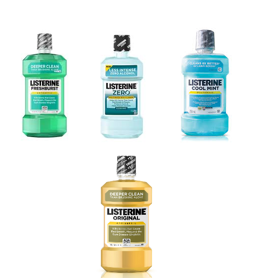 Picture of LISTERINE MOUTHWASH - COOL MINT- 500ML