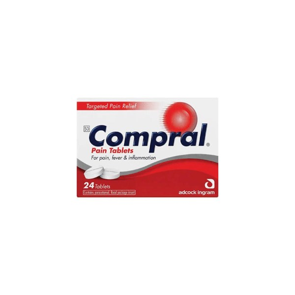 Picture of COMPRAL PAIN TABLETS - 50's