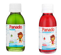 Picture of PANADO PEDIATRIC SYRUP - ASSORTED - 100ML
