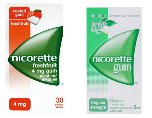 Picture of NICORETTE GUM - 2mg - 30'S